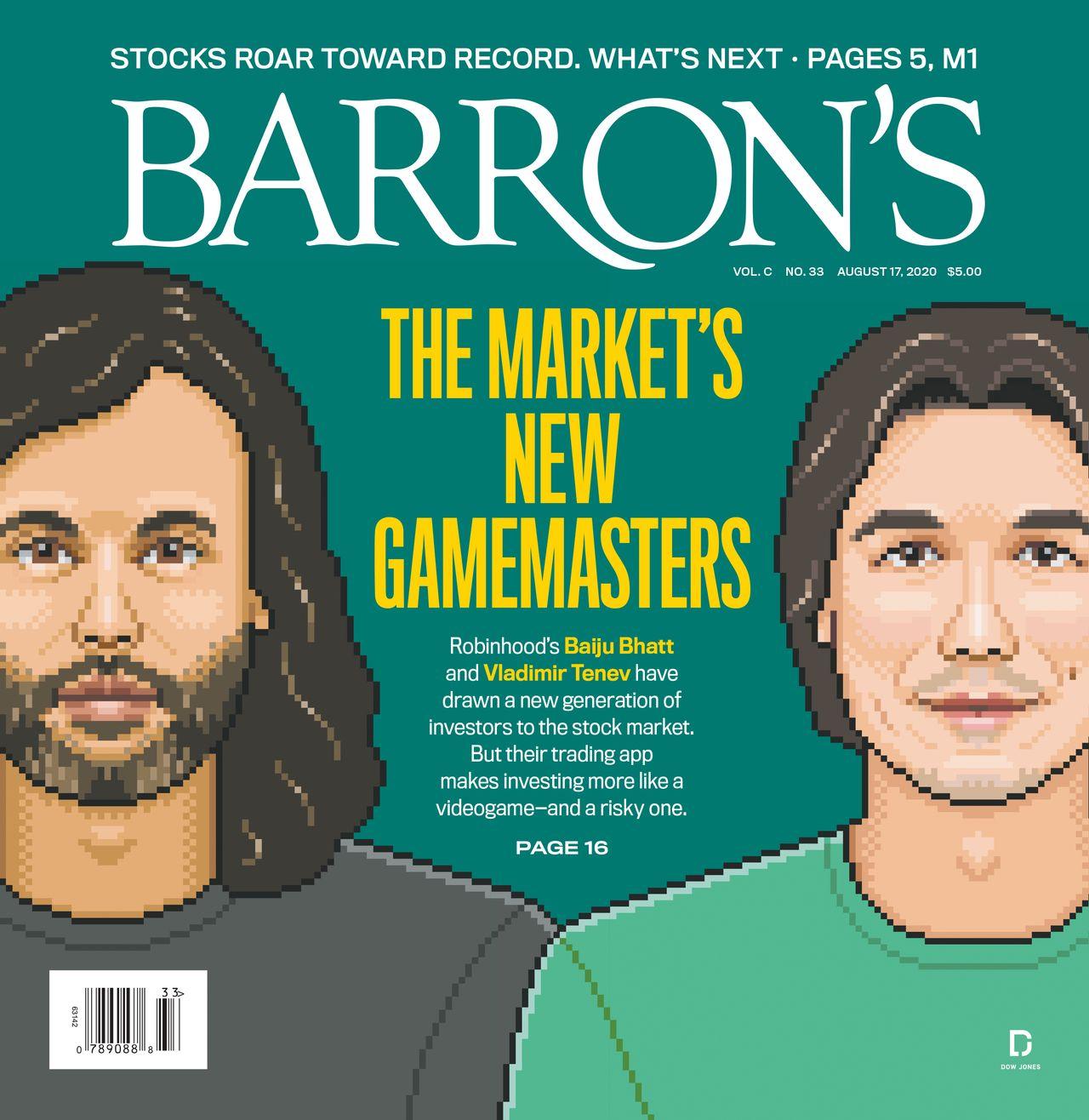 Cover Illustration for Barron's Magazine