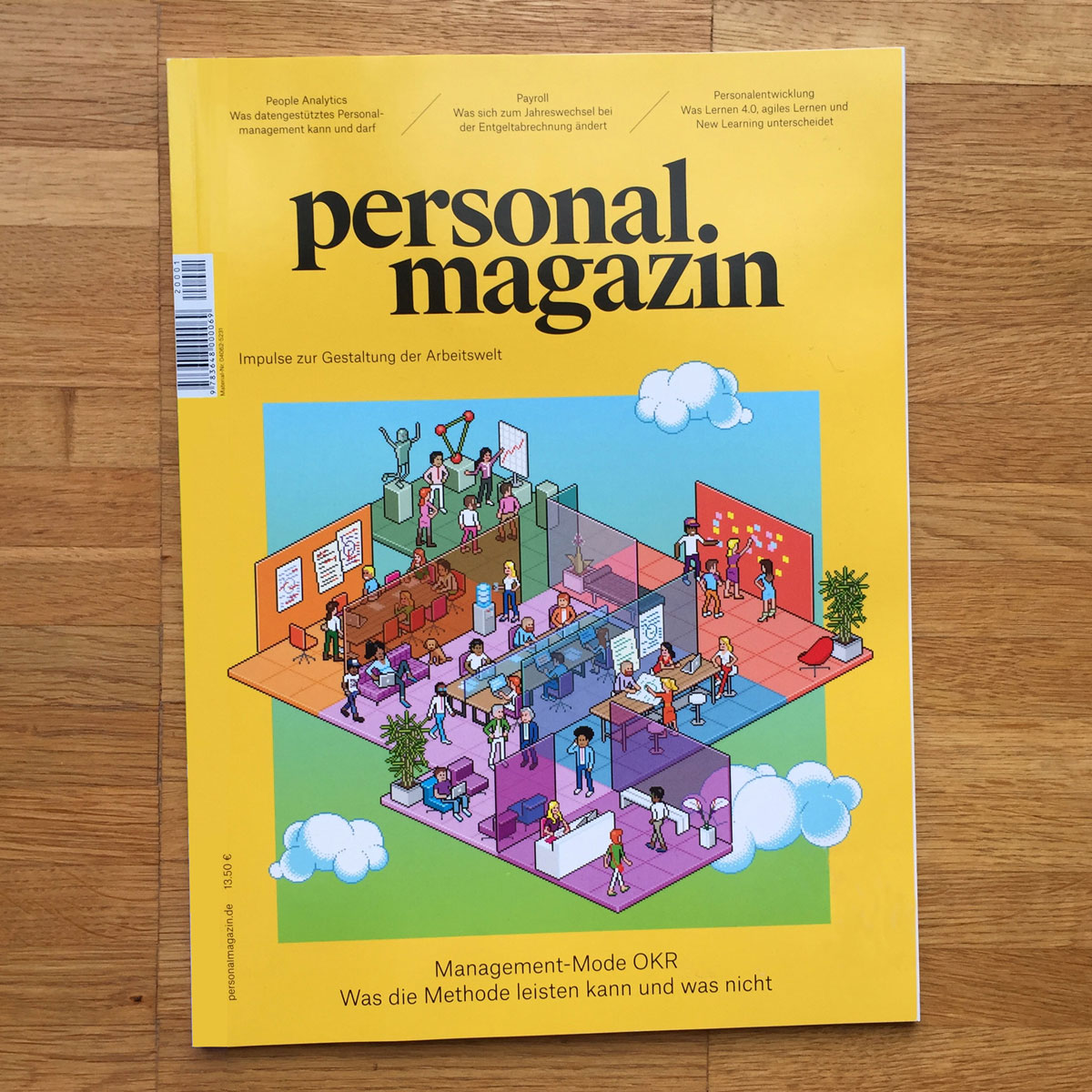 Cover for Personal Magazin